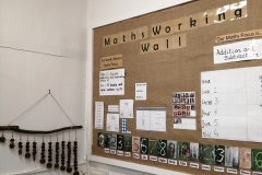Maths-working-wall