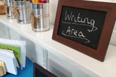 Writing-area