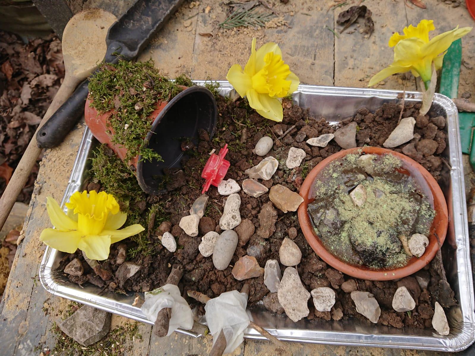 Henry-and-Bertie-Easter-garden